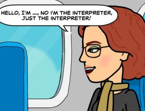 Life as a conference interpreter