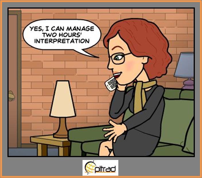 Interprete al telefono Opitrad