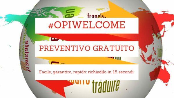 Preventivo Traduzioni - Opitrad