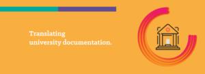 Translating University Documentation