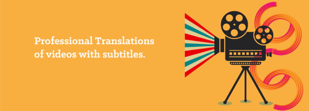 Translations of videos with subtitles - opitrad