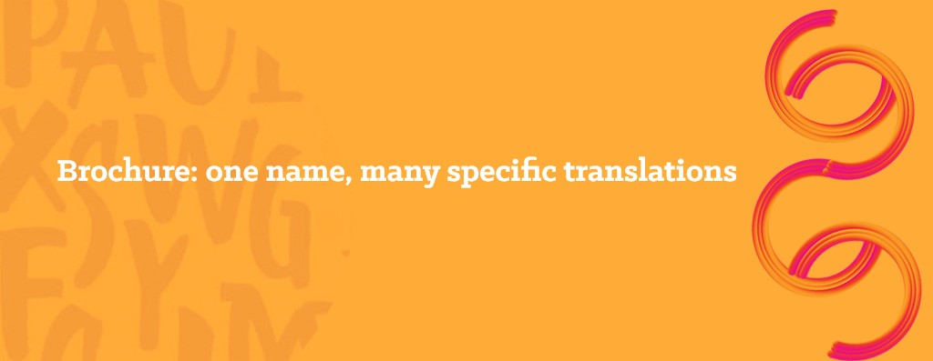 Translations of brochures - opitrad