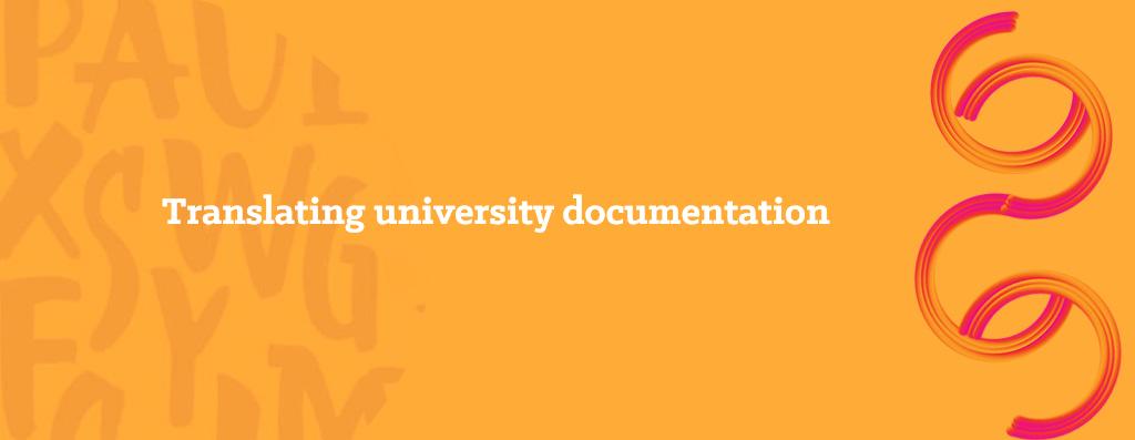 Translating academic texts - opitrad