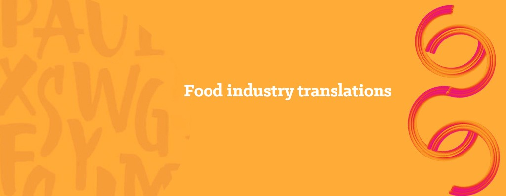 Translating for the food industry - opitrad