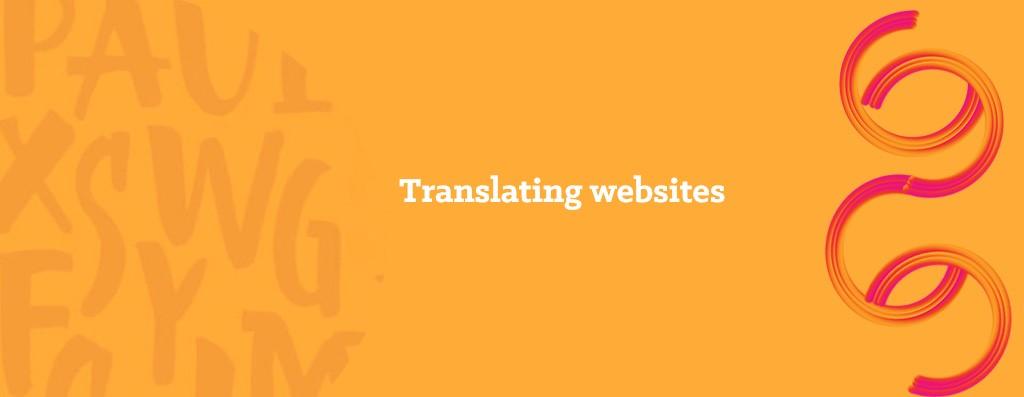 Website translations into Italian - opitrad