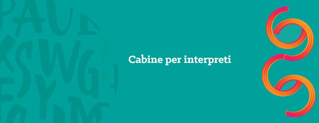 cabine per interpreti - opitrad