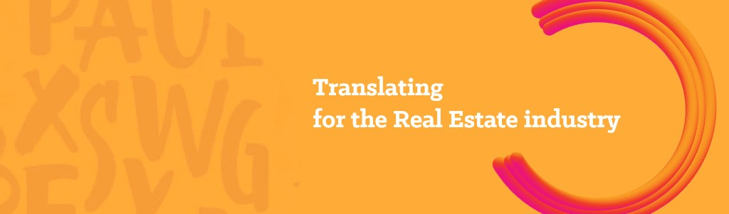 Translating for the Real Estate industry